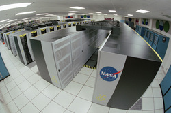 NASA supercomputer image